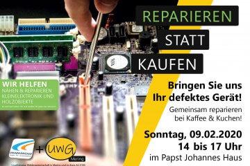 Reparieren statt kaufen